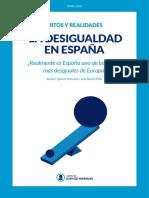IJM - Mitos y Realidades Sobre La Desigualdad en España