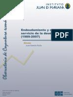 IJM - Endeudamiento y Capacidad de Servicio de La Deuda en España