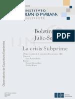 IJM - La Crisis Subprime