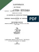 JORGA 1896 - Philippe de Mézières, 1327-1405, Et La Croisade Au XIVe Siècle