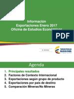 Informe Exportaciones Colombia Hasta Enero 2017