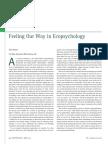 Stevens, P. (2014) Feeling Our Way in Ecopsychology_Ecopsychology 6