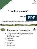 16. Codificacion Axial