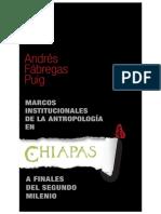 Marcos Institucionales de La Antrop. en Chiapas
