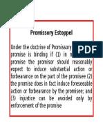 Promissory Estoppel Rule.docx