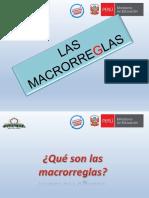 Las Macrorreglas