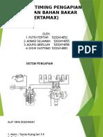pengaruh uji variasi tiiming pengapian terhadap konsumsi bahan bakar pertamax dan rpm mesin
