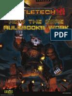 BattleTech Core Rulebooks Primer