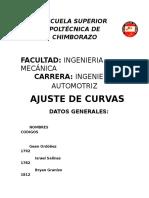 Ajuste de Curvas 1729