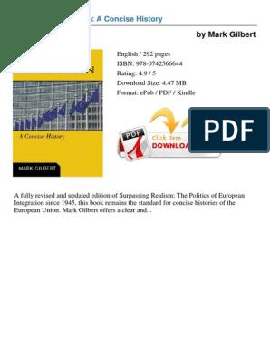 European_Integration_A_Concise_History pdf   European