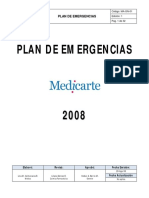MA GN 01 Plan Emergencias