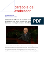 La Parabola Del Sembrados - Julio