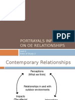 contemporary societal relationships - portrayals
