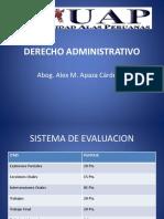 Derecho Administrativo UAP