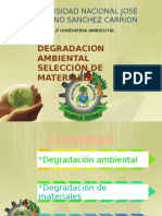 Tecnologia de Materiales (Degradacion Ambiental)