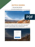 PRÁCTICA GUIADA webnode