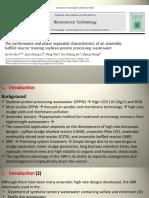 Kinerja Dan Karakteristik Pemisahan Fase ABR Pada Air Limbah Pengolahan Protein Kedelai