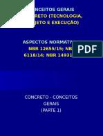 Aula _ Concreto - Parte 1 - Conceitos Gerais