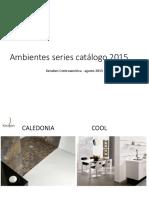 Ambientes Series Catálogo 2015