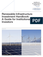 WEF Renewable Infrastructure Investment Handbook