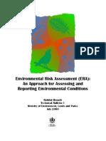 Enviornmental Risk Assessment Guide