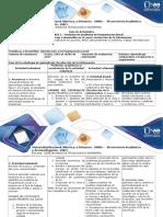 Guía de Actividades y Rubrica de Evaluación Unidad 1 - Fase 2 Redactar Un Problema de Programación Lineal (1)