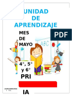 Unidad de Aprendizaje - Mayo