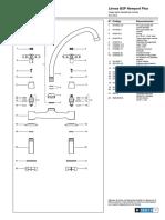 DESPIECEjuego Para Mesada de Cocina b2p Newport Plus 0413 b2p Despiece PDF B 13.0 5 0