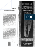 (Ruy Mauro Marini) La teoria social latinoamericana tomo II - Subdesarrollo y Dependencia.pdf