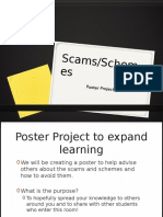 poster scam project
