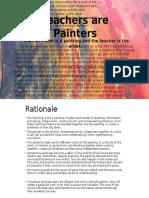 teachers are painter