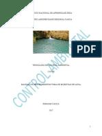 Manual de Procedimientos Toma de Muestras de Agua