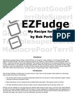 Ezfudge Essay