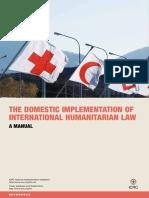 Manual para la implementación local del derecho internacional humanitario