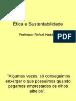 Ética e Sustentabilidade - Palestra