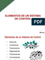 (3) Elementos de Un Sistema de Control