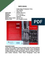 Buku - Tindak Pidana Perdagangan Orang