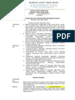 11103 - SK Pengangkatan Dan Penetapan Manajer Risiko RS