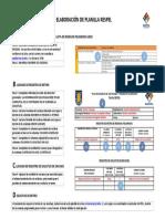 DIAGRAMA Elaboración Planilla RESPEL