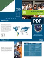Brochure Servicios Post Venta (CETI - SERTEC)
