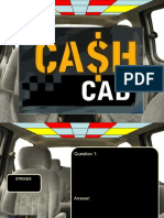 Cash Cab Template