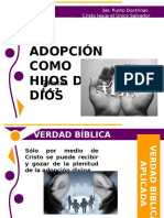 Adopcion en Cristo