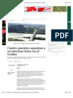Cuatro Puentes Apuntan a Revalorizar Lotes en El Urubó - Noticias de Bolivia y El Mundo - EL DEBER