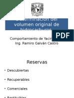 Determinación Del Volumen Original de Hidrocarburos - Copia