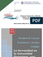 Artola Ma 2012 - La Borrosidad en La Inmunidad Financiera, Una Nueva Visión de La Matemática de Inversión (Bajado Nülan)