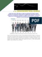 Ergonometría Áurea, Basados en El Número Fi.