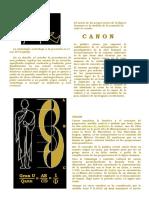 Algo de Etimologías Diferentes_ Canon