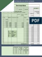Electric Analysis Balance Gas 6% Intrest in USD 400 MW-   / MW amount 2.5 Million USD