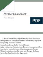 Antidiare & LAKSATIF