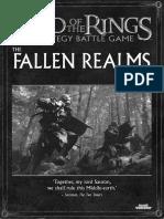 LOTR SBG Sourcebook - the Fallen Realms